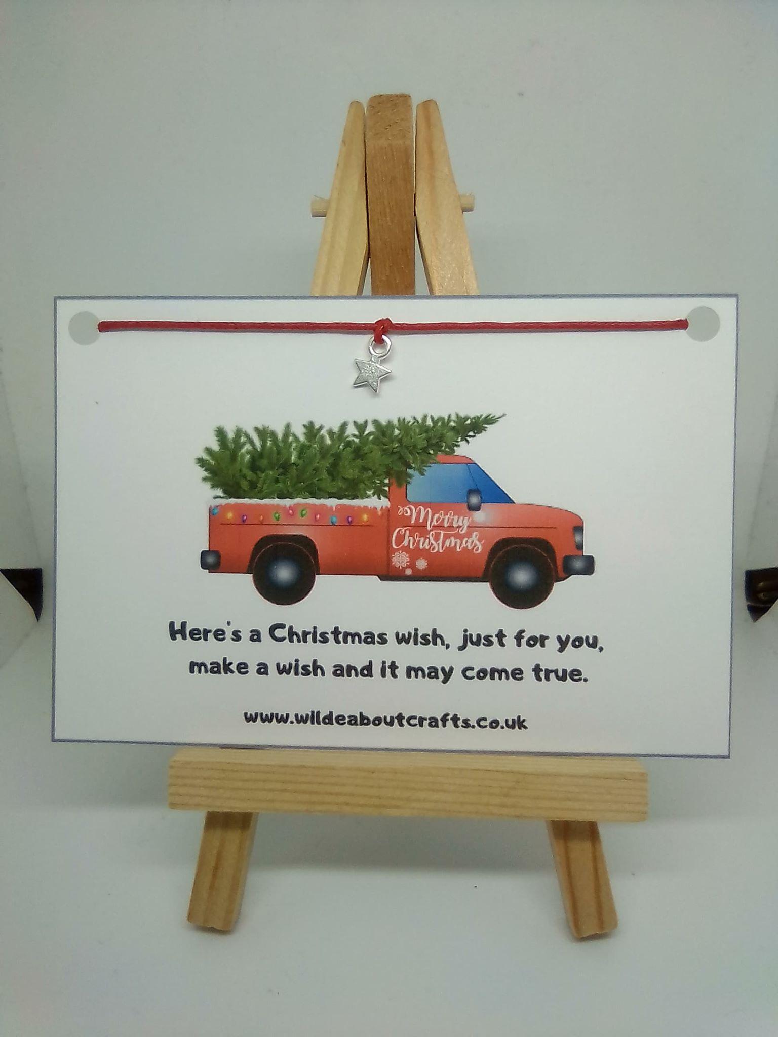 truck christmas tree